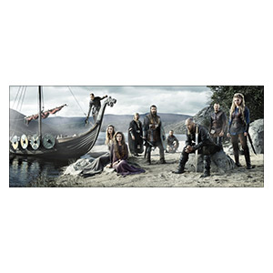 Vikings. Размер: 150 х 60 см
